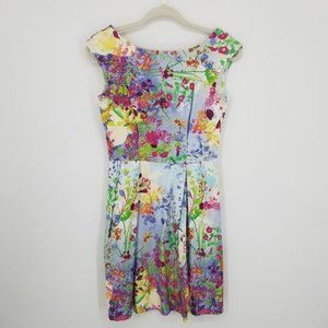 Closet London Floral Fit and Flare Dress 4